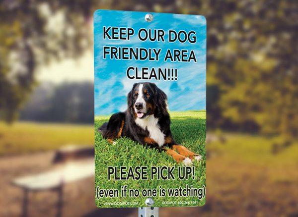 dog poop receptacle